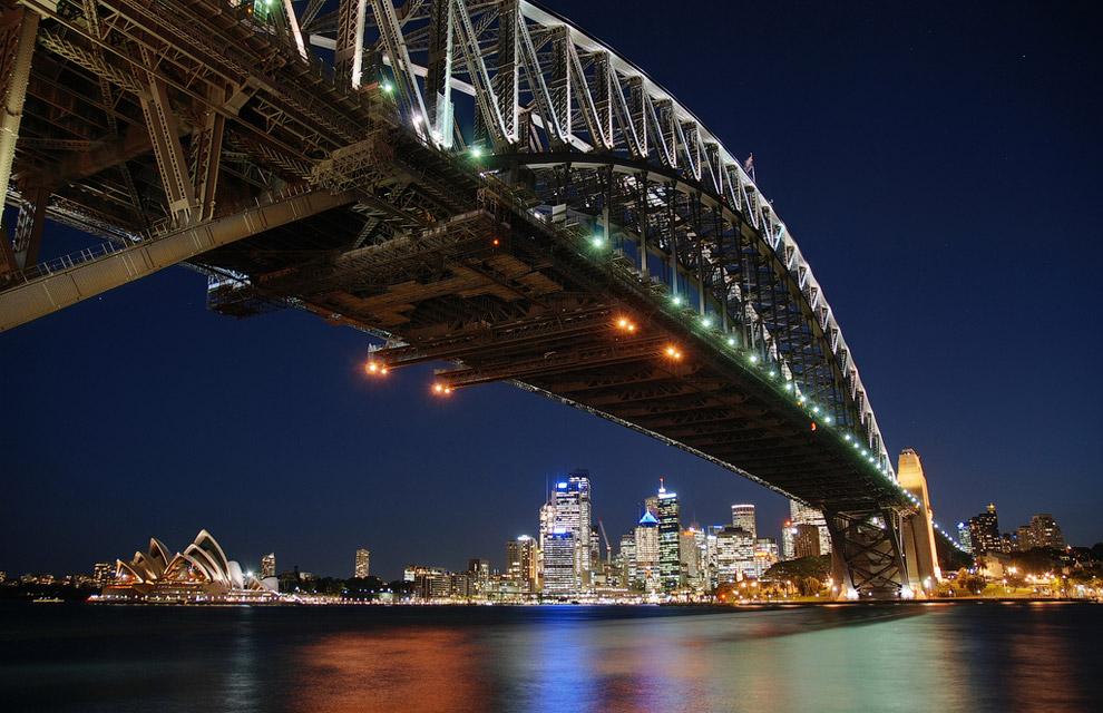 Харбор-Бридж — самый большой мост Сиднея