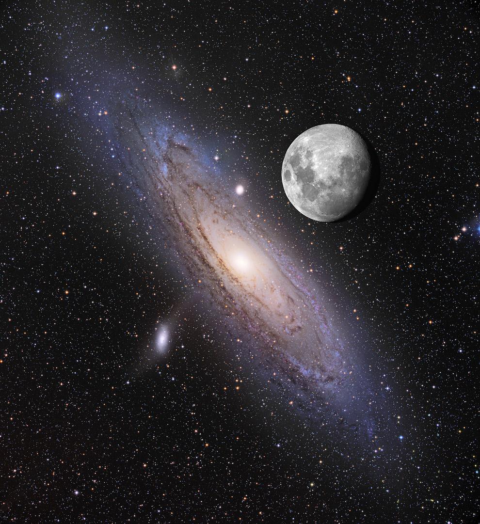 Луна над Андромедой