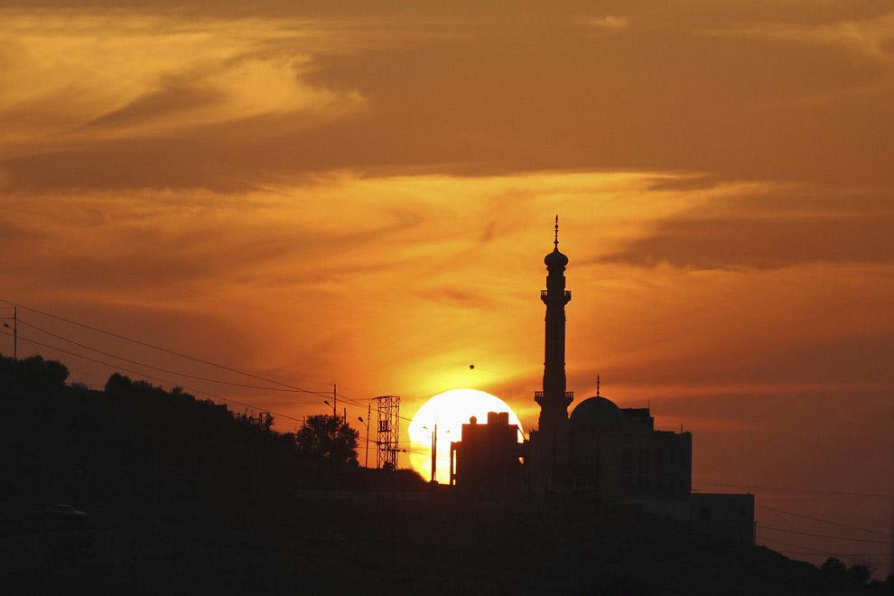 Солнечное затмение в Аммане