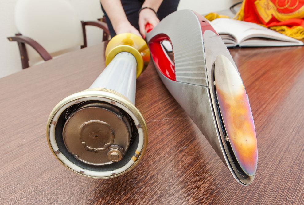 Как сделать факел олимпийский 136