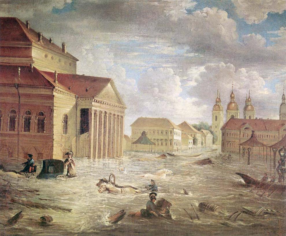 Петербургское наводнение, 1824 год