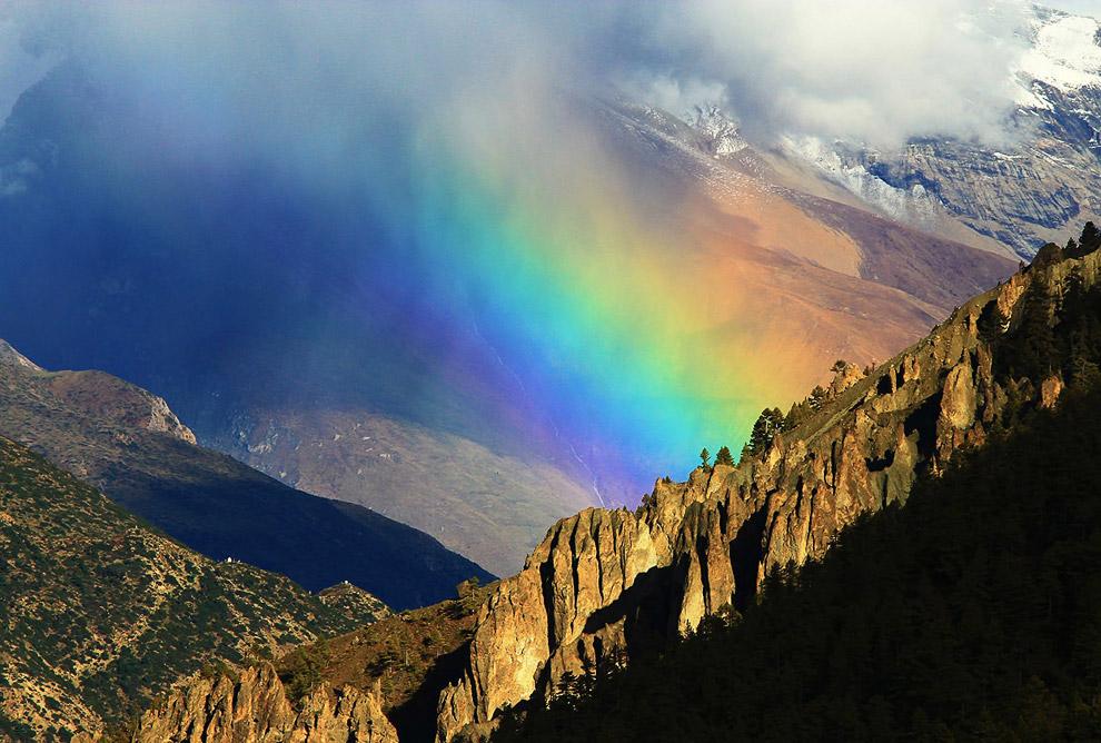 Радуга над Гималаями, Непал