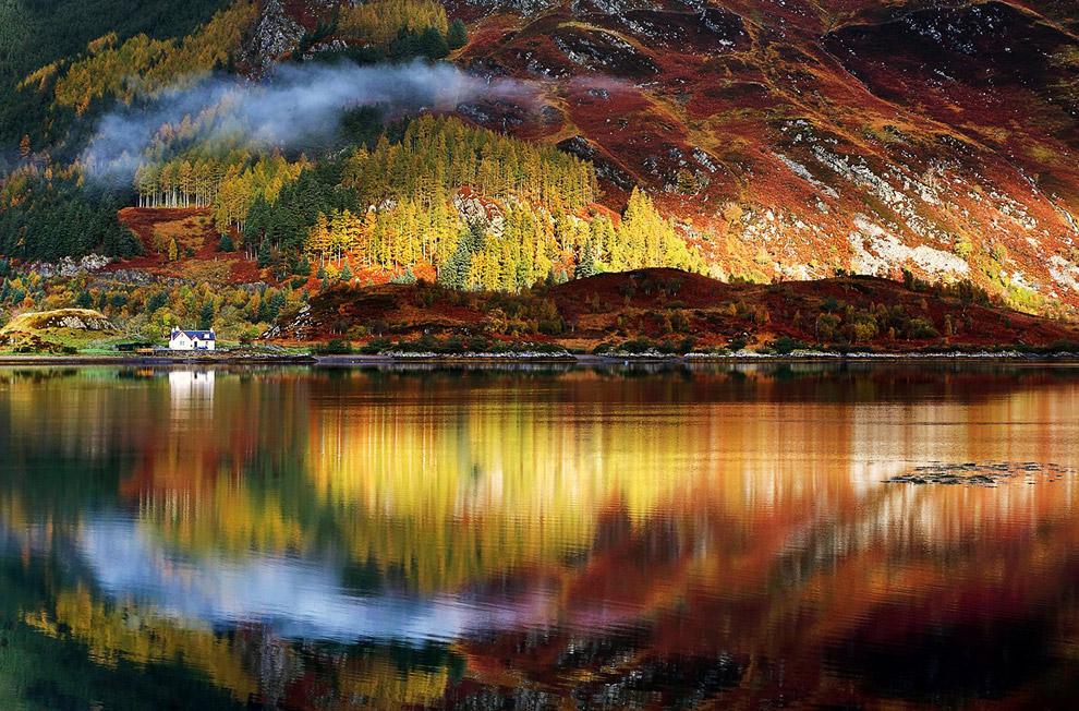 Осень в горах Шотландии