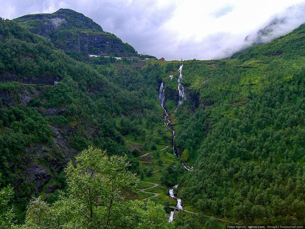 В горах Норвегии