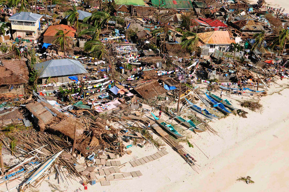 disaster in the philippines