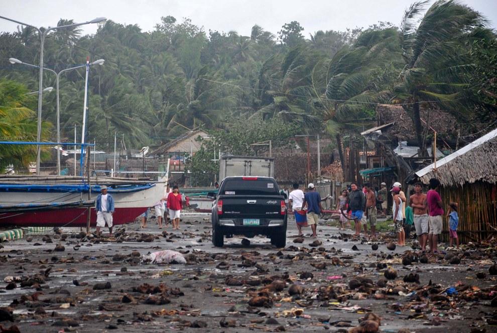 Супертайфун «Хайянь» на Филиппинах