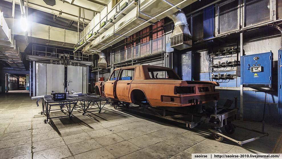 Там, где производят отечественные автомобили представительского класса