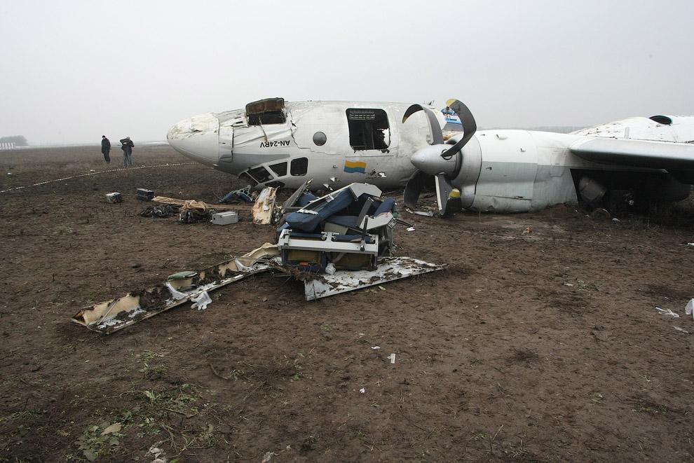 12 февраля 2013 самолет АН-24 авиакомпании «Южные авиалинии» (рейс 8971 «Одесса-Донецк») совершил аварийную посадку в аэропорту Донецка