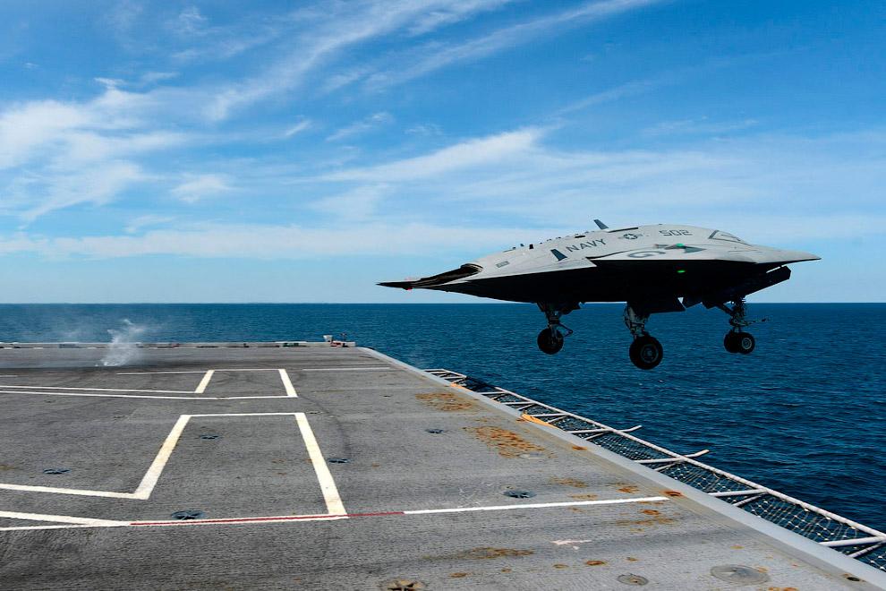 Военно-морской флот США получил первый в своей истории ударный беспилотник