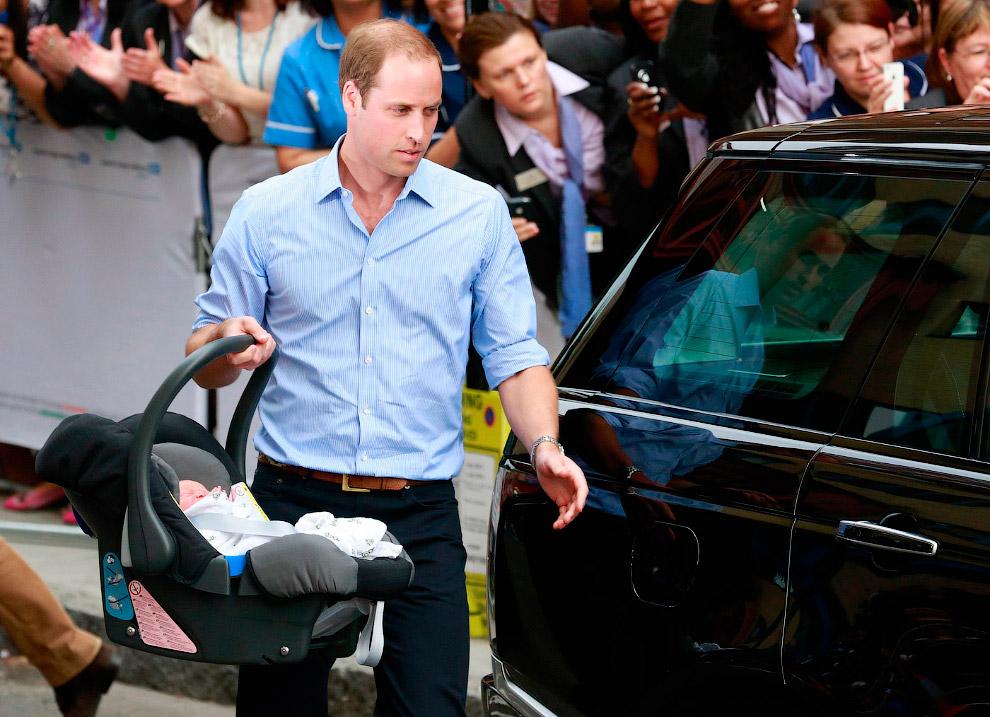 22 июля 2013 родился наследник английского престола Принц Кембриджский Джордж