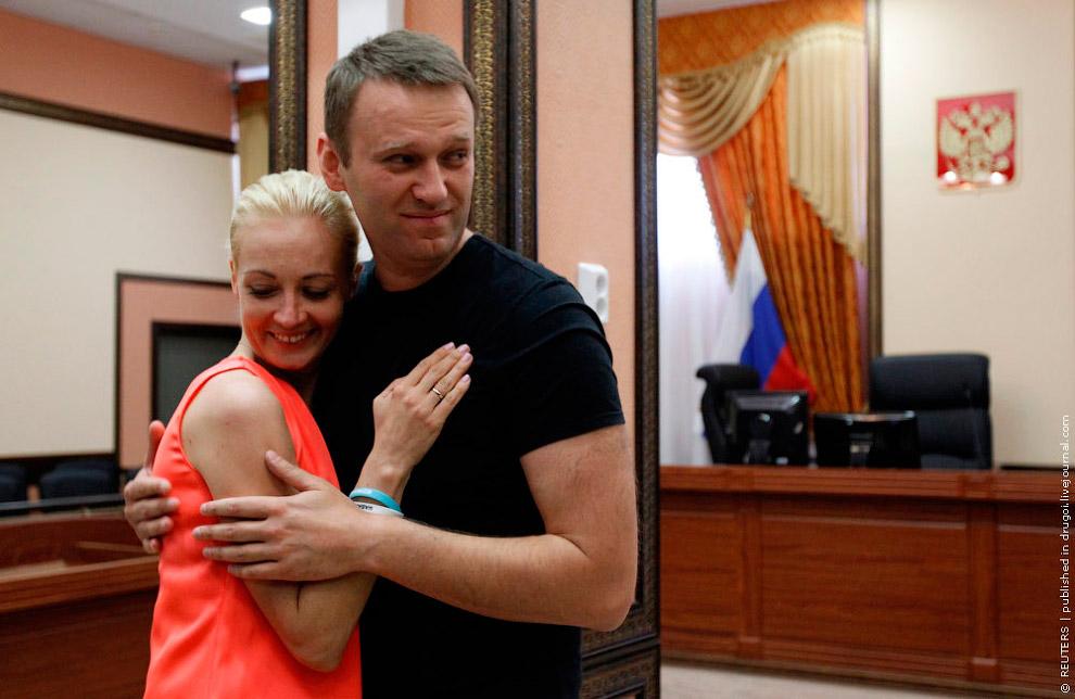 Алексей навальный с женой