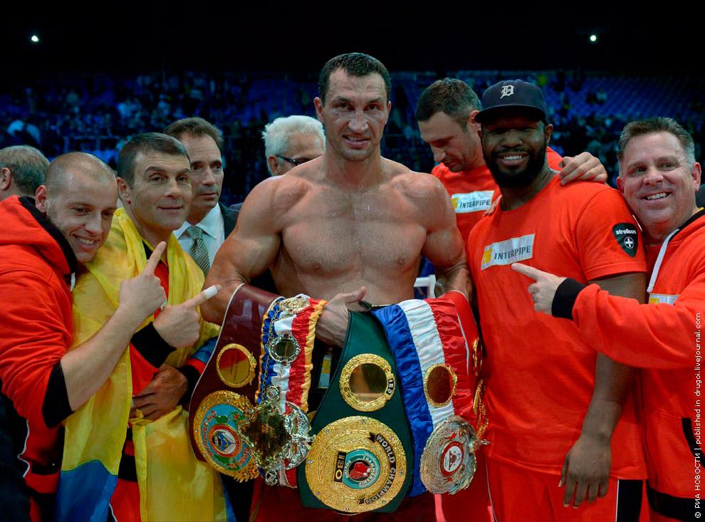 Главный боксерский поединок 2013