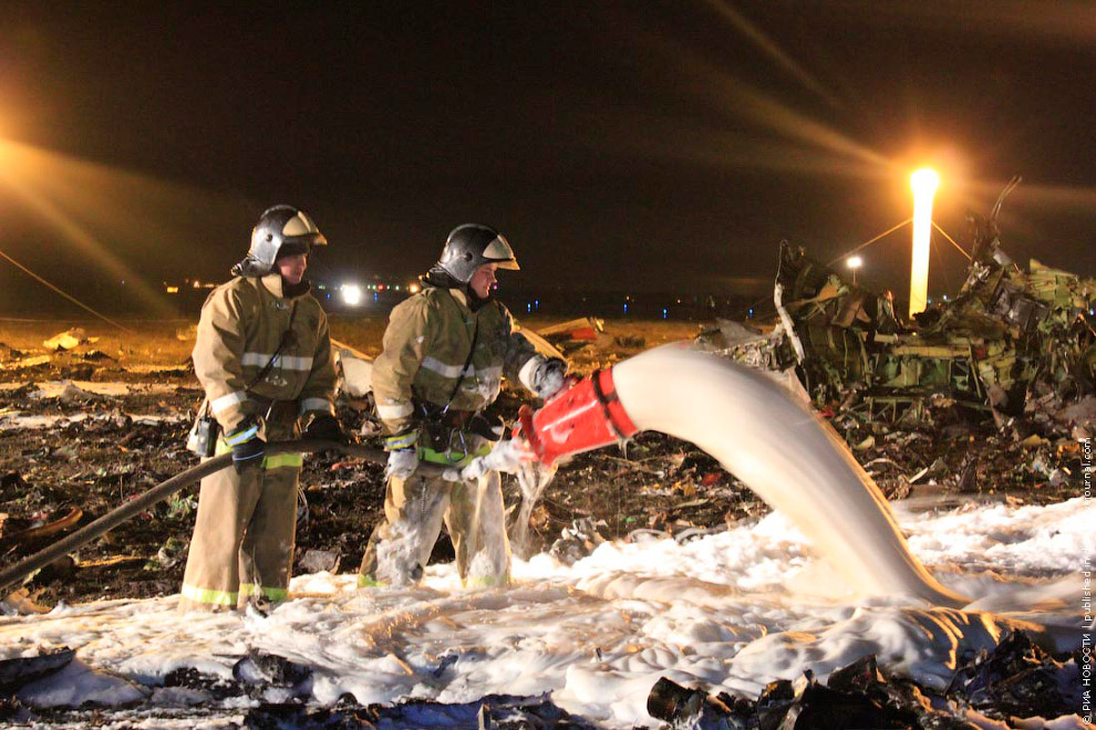 Вечером 17 ноября 2013 в Казани произошла авиакатастрофа