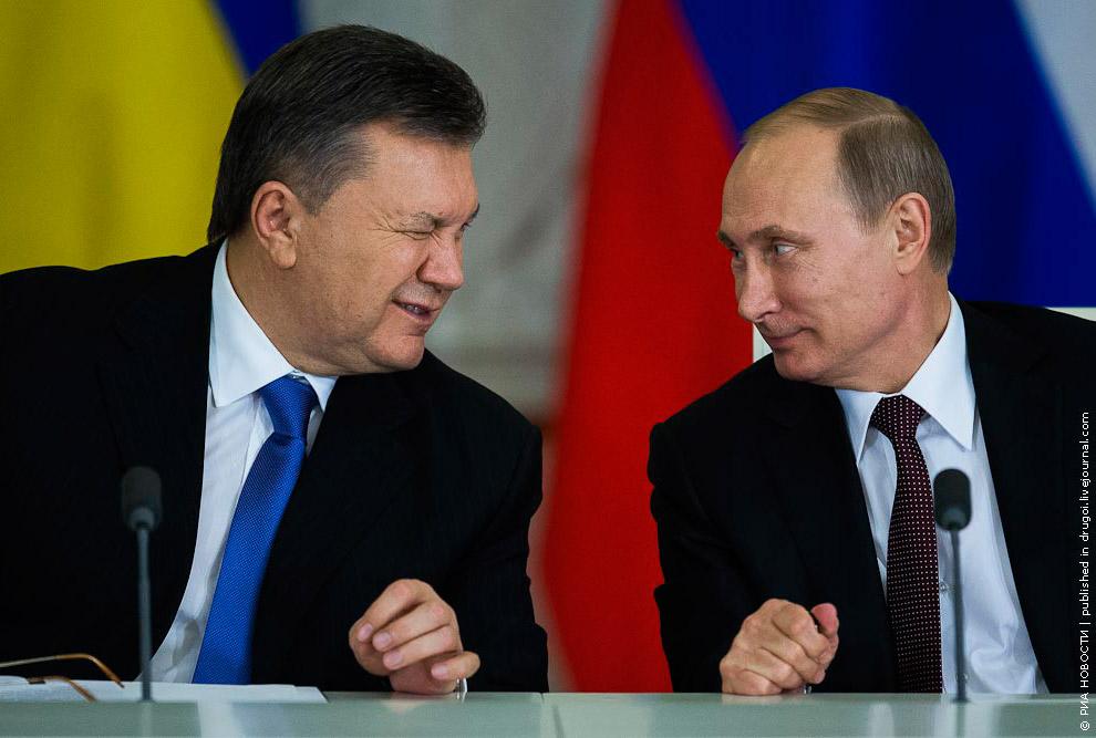 17 декабря 2013 президент Украины Виктор Янукович одержал убедительную победу над своими соперниками на Майдане