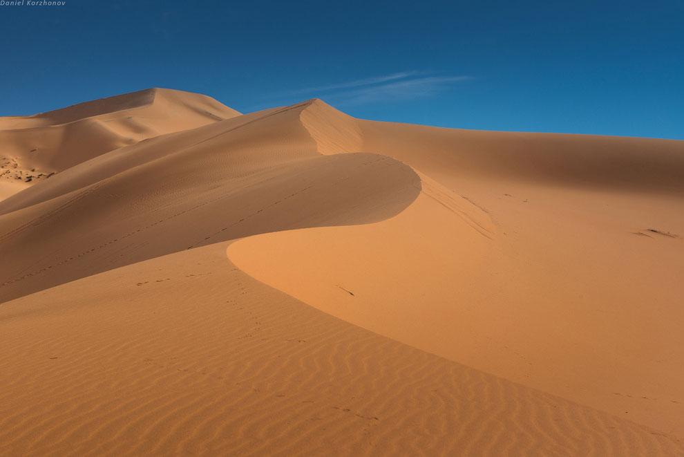 Большое путешествие по Марокко: холодный песок Мерзуги
