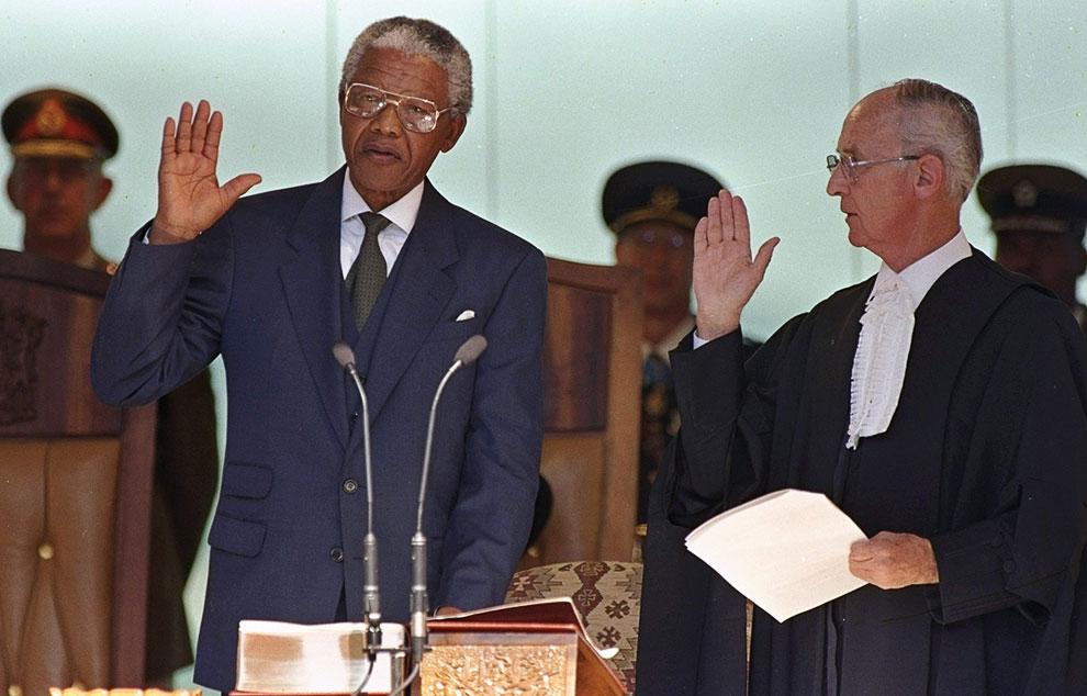Церемония приведения к присяге президента