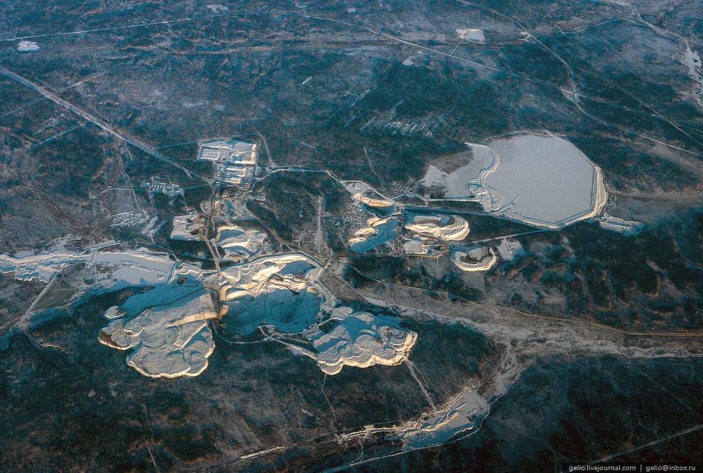 Покровский рудник по добыче золота. Амурская область