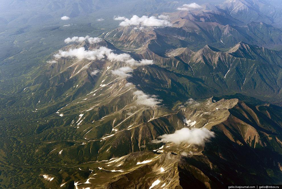 Горы Камчатки