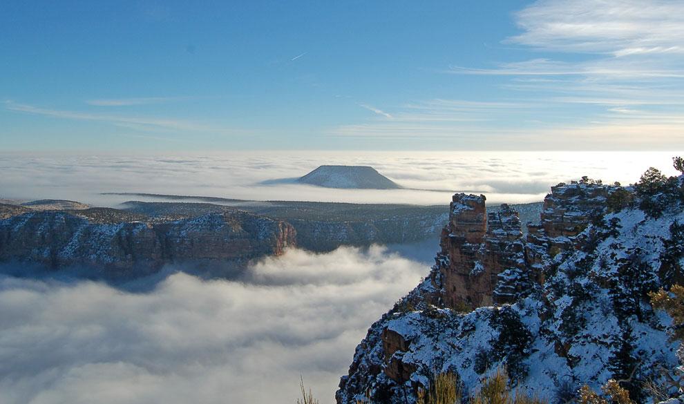 Desert View — смотровая площадка на самом краю Большого Каньона