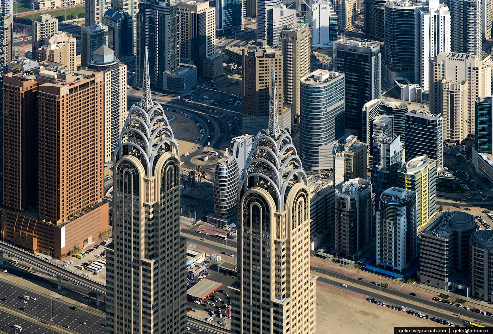 Dubai Business Central Twin Towers