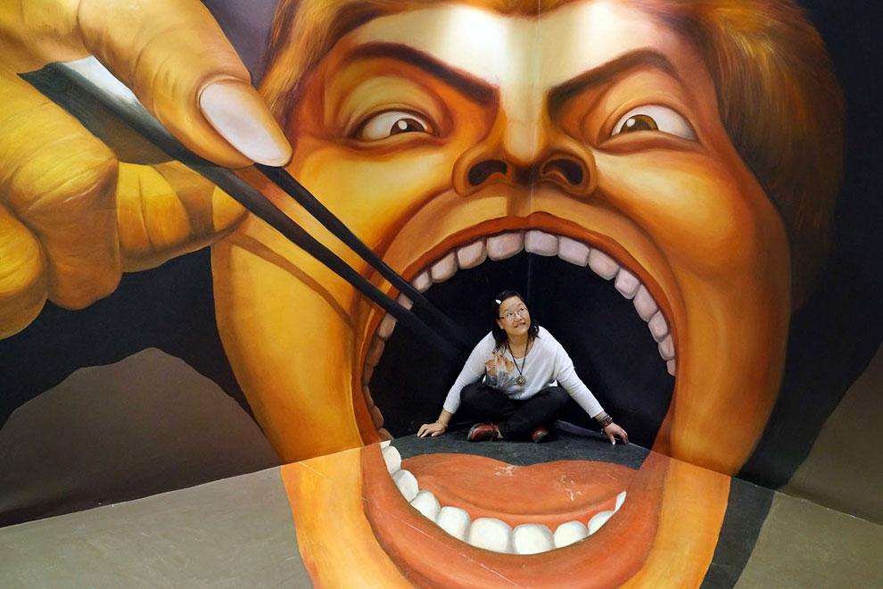 Выставка 3D-живописи в Гуйяне