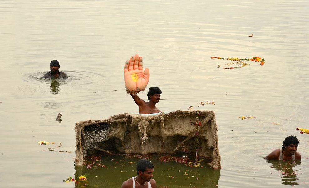 «Фестиваль Ганеши» — праздник, посвящённый индийскому богу с головой слона