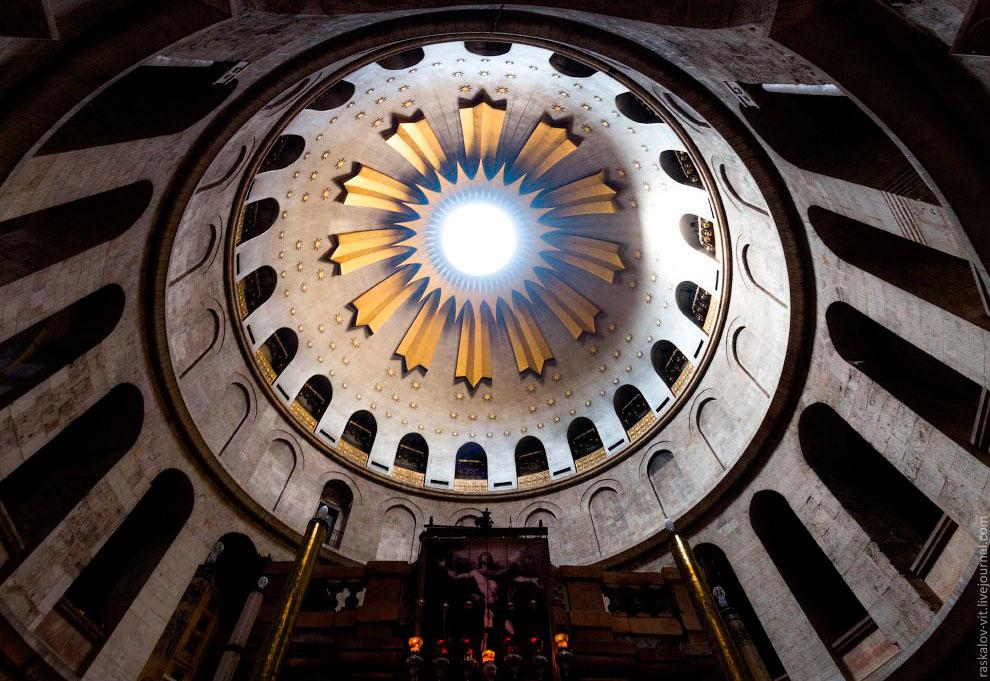 Купол храма гроба Господнего