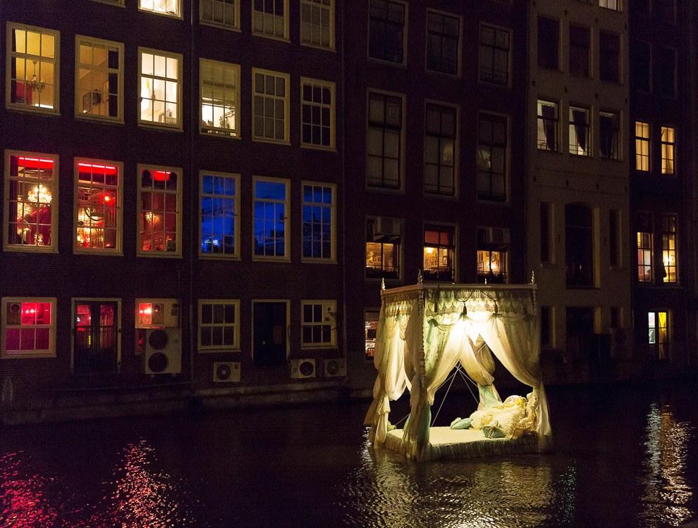 В Амстердаме проходит 5-й Фестиваль света