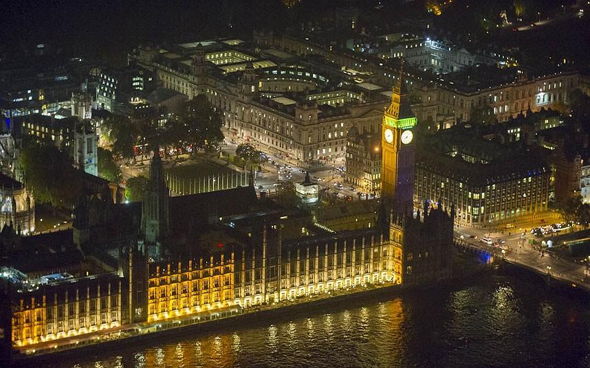 Английский парламент, Порткаллис-хаус, Министерство финансов