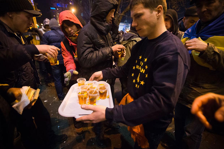 Евромайдан. Ситуация в Киеве