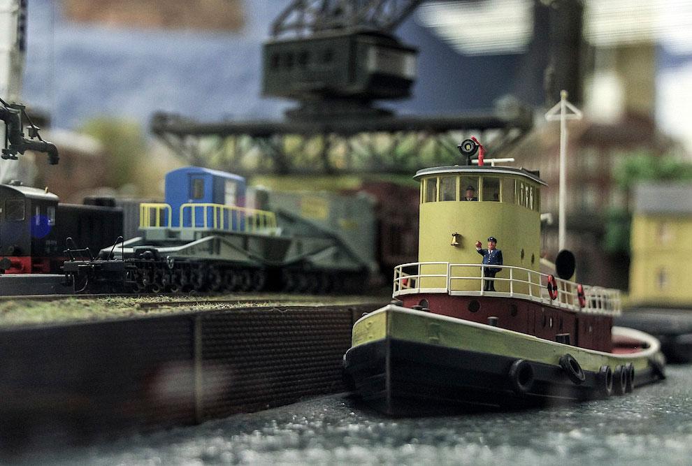 Представлен и калининградский морской порт
