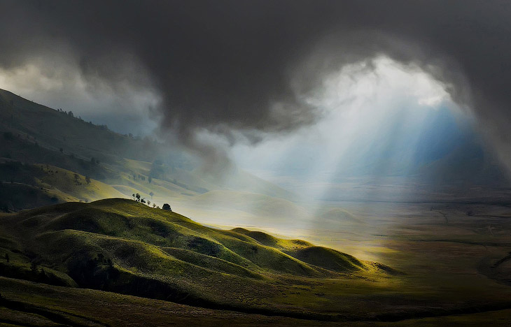 Свет с небес