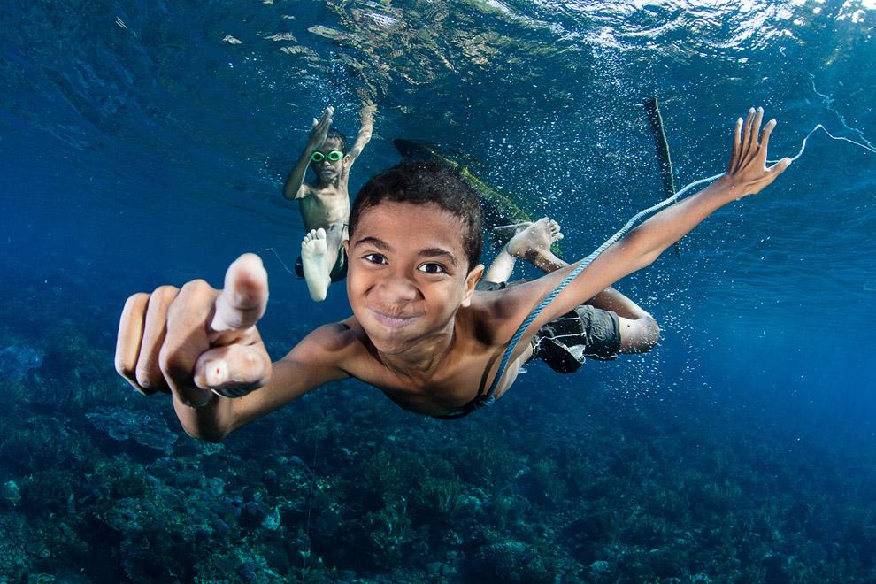 На дне моря, Индонезия