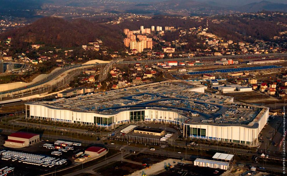 Здесь будут жить и работать около 15 000 журналистов