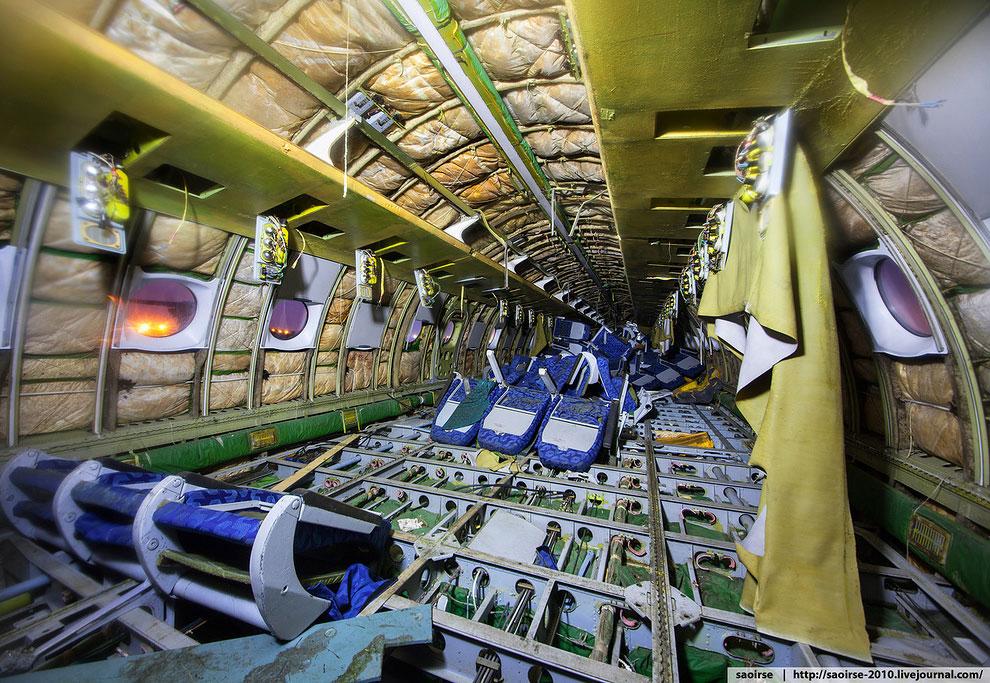 Кладбище самолетов в Подмосковье