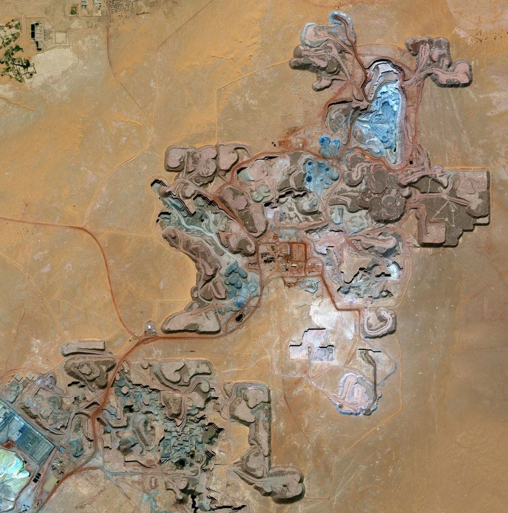 Урановый рудник в Арлите — промышленном городе в республике Нигере