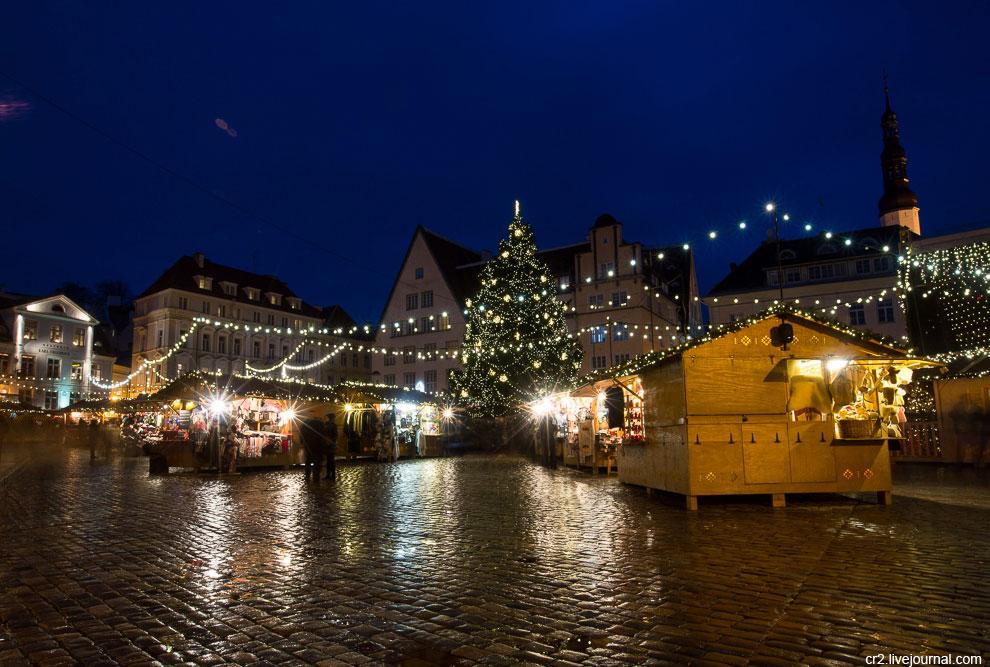 Рождественская ярмарка в Таллине