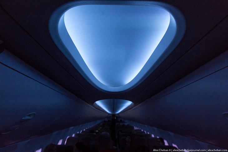 Небесный Интерьер: колыбель над облаками для путешественников