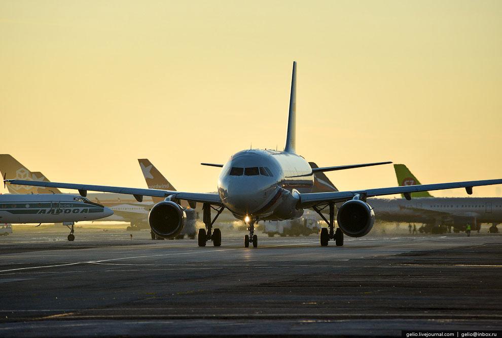 Международный аэропорт Толмачево в Новосибирске