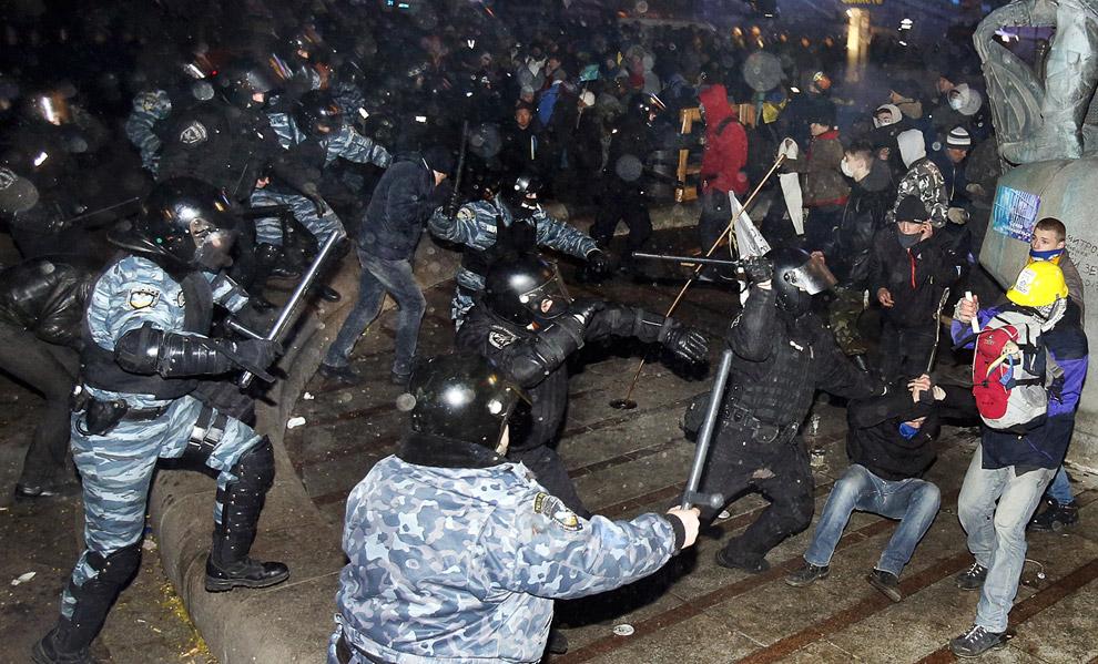 Он закончился захватом здания мэрии и дома профсоюзов, а также многочисленными столкновениями протестующих с милицией
