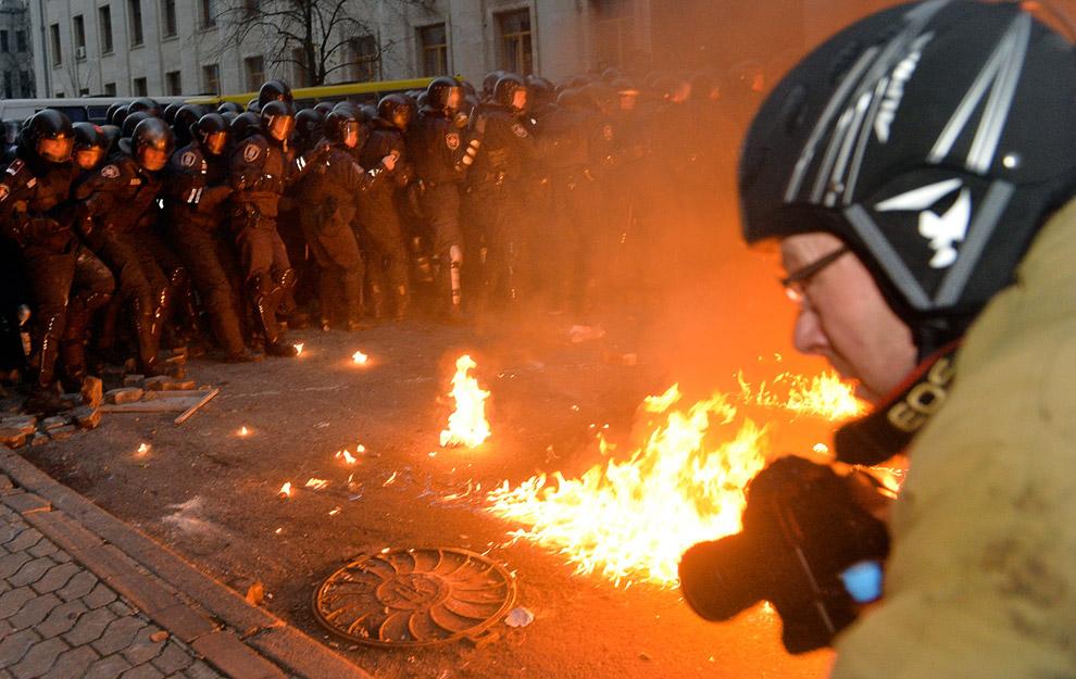 Еще один фотограф в гуще украинских событий