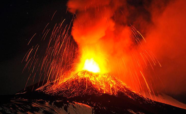 Извержения вулканов 2013