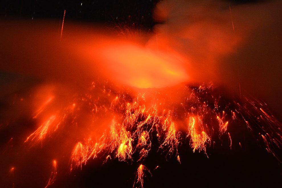 «Огненное горло», вулкан Тунгурауа