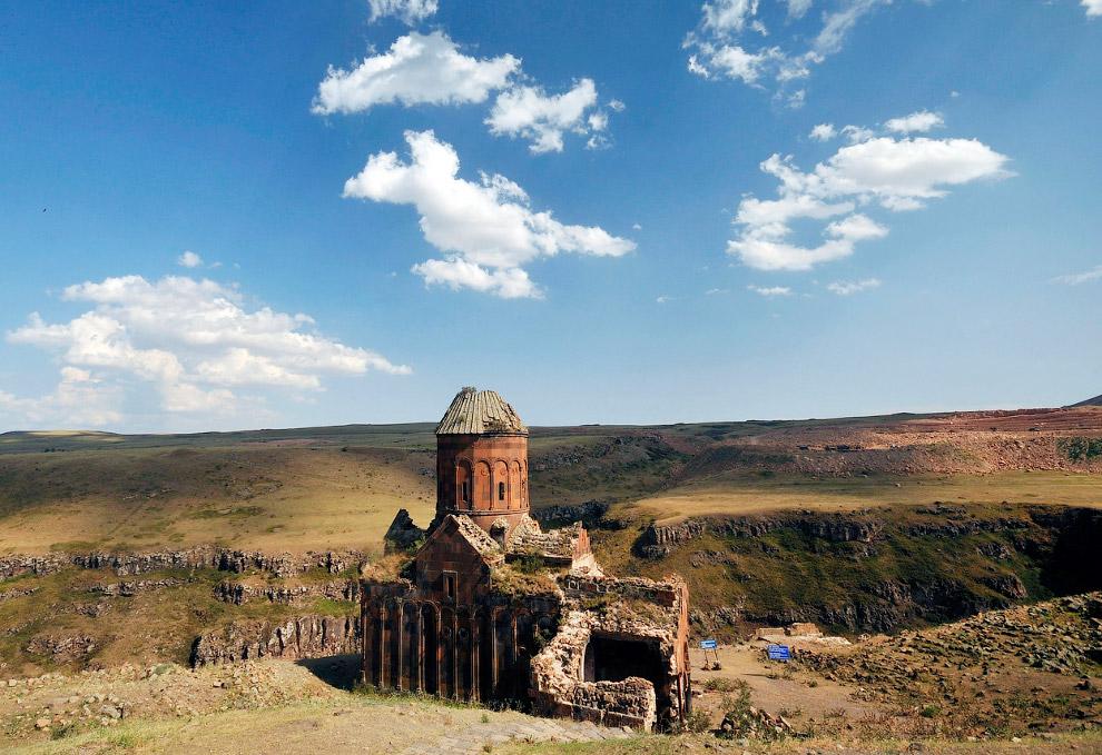 Руины церкви Святого Григория