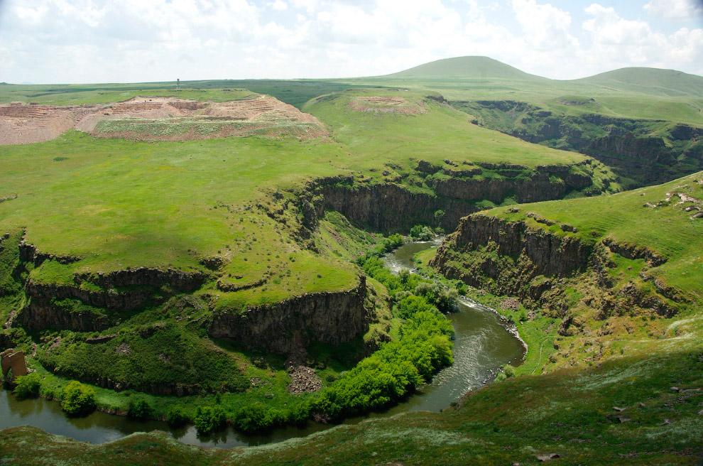 Граница между Турцией и Арменией