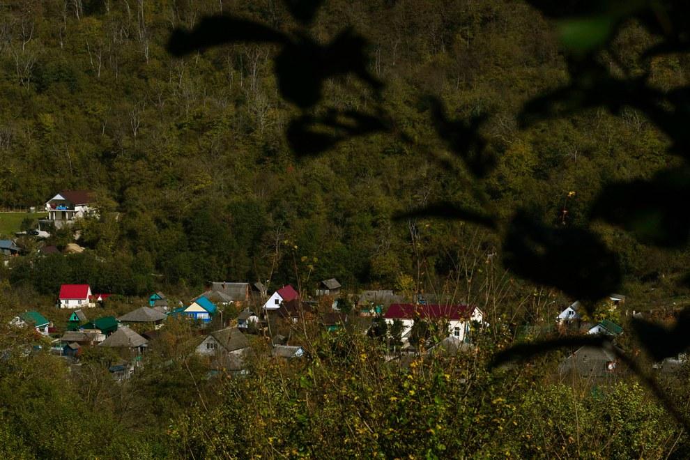 Это и есть село Тхагапш в Лазаревском районе города Сочи