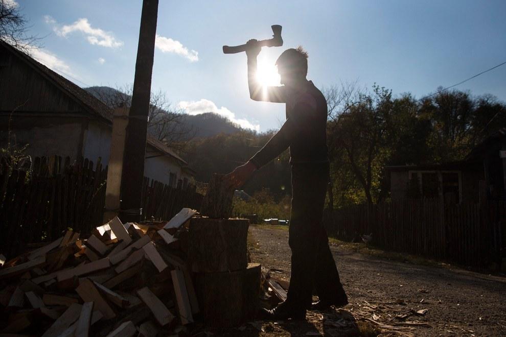 Натуральное хозяйство. Село Тхагапш в Лазаревском районе города Сочи