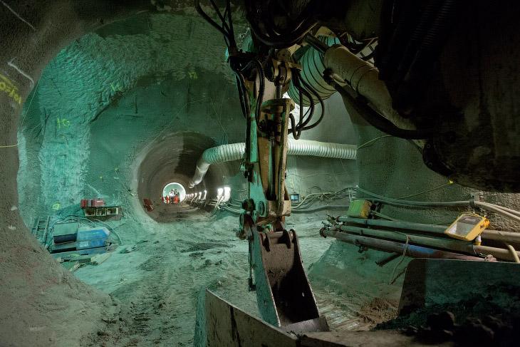 Подземелья Crossrail