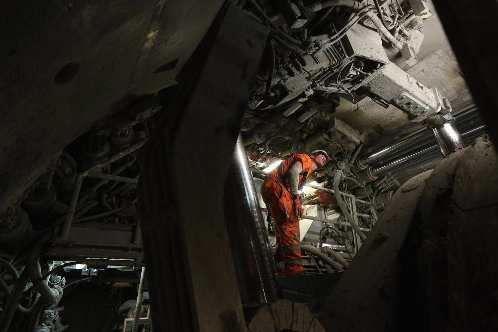 Механический монстр – 150-метровая буровая машина
