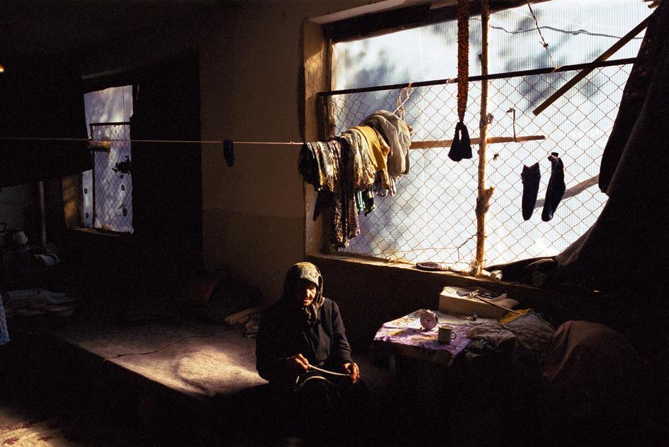 Беженцы из Чечни